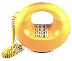 Telephone rouge